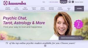 Kasamba online psychics logo