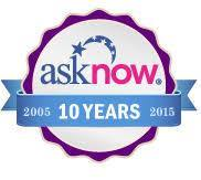AskNow online psychics logo