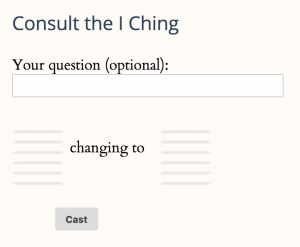 screenshot free online I-Ching